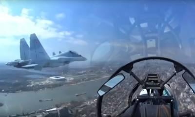 Пилот показал Ростов-на-Дону с высоты 200 метров