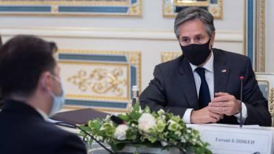 Американские СМИ рассказали о восторженной реакции России на визит Блинкена в Киев