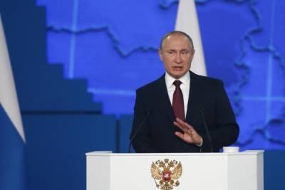 Путин призвал стороны палестино-израильского конфликта к прекращению насилия