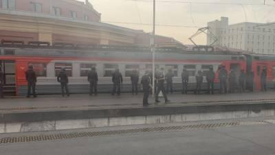 Росгвардия отработала подавление беспорядков в центре Петербурга