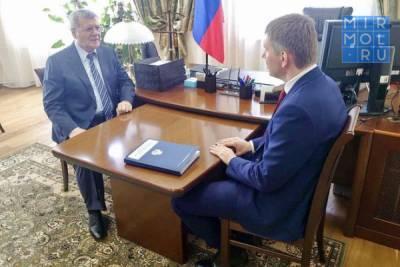 Восстановление экономики СКФО после пандемии обсудили Юрий Чайка и Максим Решетников