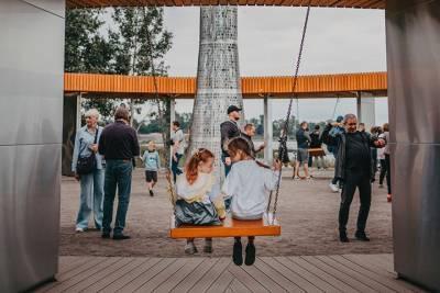 Вторую очередь парка в петербургском Кронштадте откроют ко Дню ВМФ