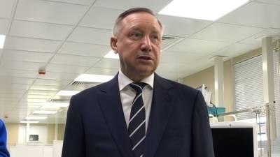 Губернатора Петербурга Беглова поздравили с 65-летним юбилеем