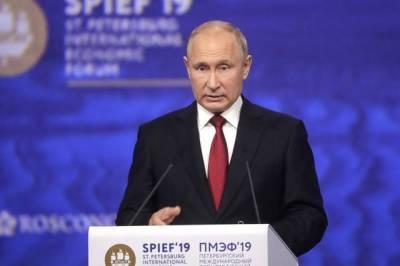 Путин приедет в Санкт-Петербург для участия в пленарном заседании ПМЭФ