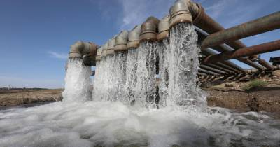 Начался поиск пресной воды для Крыма под дном Азовского моря