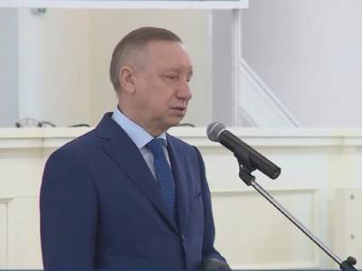 Губернатор Петербурга Александр Беглов сбрил усы