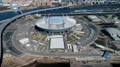 Губернатор Петербурга оценил готовность стадионов к Евро-2020