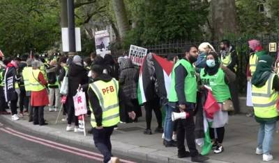 Палестино-израильский конфликт привел к столкновениям в Европе