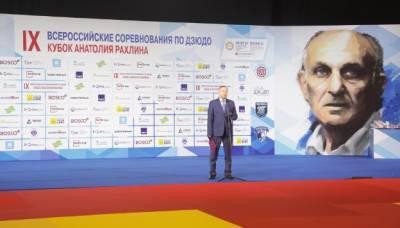 Беглов посетил соревнования по дзюдо в Петербурге