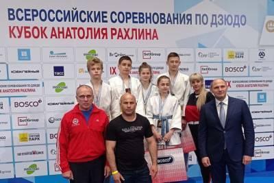 Донецкие дзюдоисты завоевали 5 наград на престижном турнире