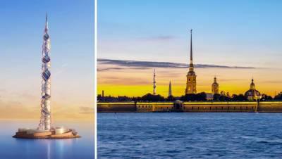 «Газпром» предложил построить новый небоскреб в Санкт-Петербурге