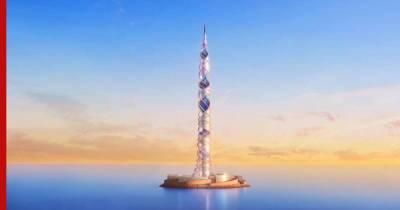 """""""Газпром"""" представил проект нового небоскреба в Санкт-Петербурге"""