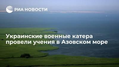 Украинские военные катера провели учения в Азовском море