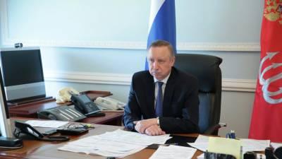 Беглов поздравил петербуржцев с Днём города