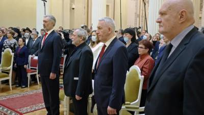 В Петербурге вручили награды новым почетным гражданам