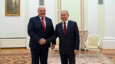 Путин и Лукашенко встретятся в Сочи 28 мая