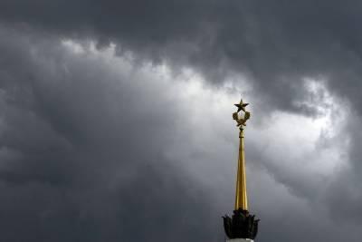 Синоптики предупредили о грозе и сильном ветре в Москве