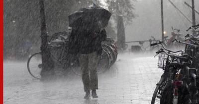 МЧС предупредило москвичей о грозе и усилении ветра