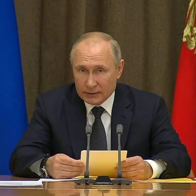 Путин поздравил Асада по случаю победы на выборах президента Сирии