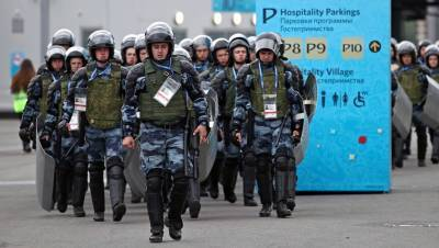 Росгвардия усилит контроль за безопасностью в Петербурге на Евро-2020