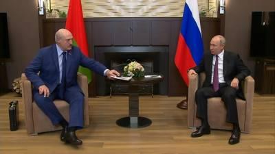 Лукашенко согласился искупаться в Сочи вместе с Путиным