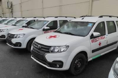В Ленобласть поставлены 30 машин для бригад неотложной помощи