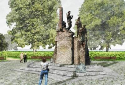 Памятник пограничникам установят в Приморском районе Петербурга