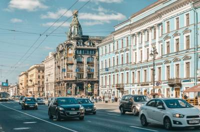 В субботу петербуржцам пообещали солнечную и холодную погоду