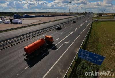 В воскресенье движение транспорта ограничат на 8 трассах Ленобласти