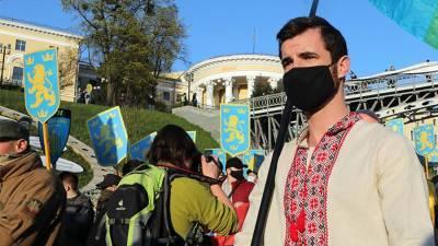 Жители Киева осудили проведение марша в честь дивизии СС «Галичина»