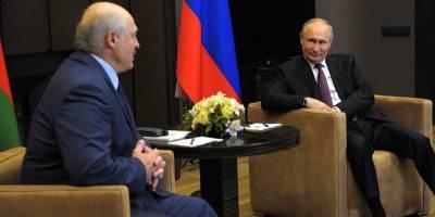 Путин предложил Лукашенко искупаться в Сочи - тот окунулся в Черное море, несмотря на холодную погоду - ТЕЛЕГРАФ