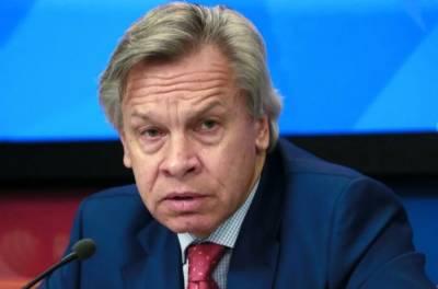 Пушков ответил на слова Байдена о встрече с Путиным