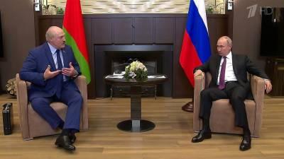 Встреча Владимира Путина и Александра Лукашенко в Сочи была запланирована еще до событий с ирландским лайнером