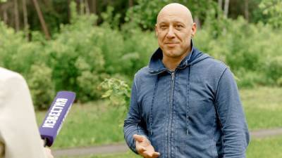 В Московской области сад Памяти посвятили неизвестному летчику