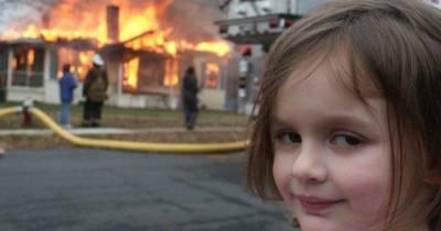 Популярный мем «Девочка-катастрофа» продали на аукционе за $500 тысяч