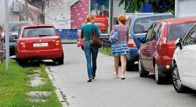 Житель Киева повредил авто «героя парковки» и попался на видео