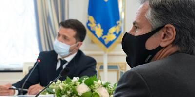 Энтони Блинкен назвал свой визит в Украину «продуктивным»
