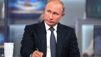 «Выходим из сложной ситуации»: Путин прокомментировал эпидобстановку в России