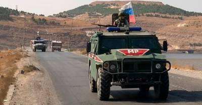 На северо-востоке Сирии погиб российский военный