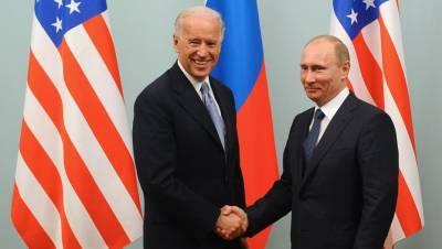 Названо место встречи Путина и Байдена