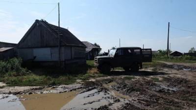 Жители Омской деревни обратились к Ангеле Меркель за помощью в ремонте дороги