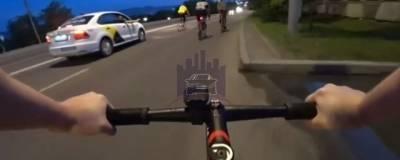 Красноярец, стрелявший по велосипедистам из такси, сдался полиции