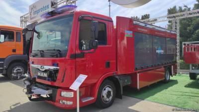 В Азербайджане впервые начато производство пожарных автомобилей (Эксклюзив) (ФОТО/ВИДЕО)