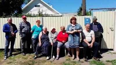 Видео из Сети. Жители омской деревни попросили помощи у Ангелы Меркель