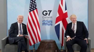 Джонсон и Байден обсудили Афганистан, Китай, Иран и Россию