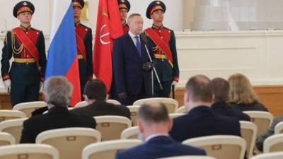 В Смольном петербуржцам вручили государственные награды РФ