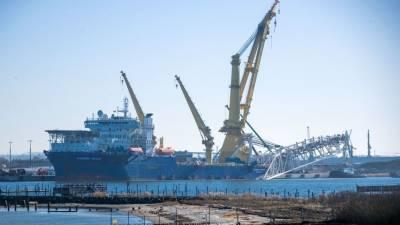 Укладку морской части первой нитки «Северного потока — 2» завершили