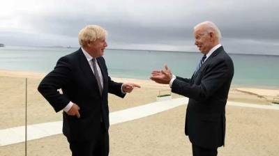 Байден и Джонсон на встрече в Корнуолле обсудили Россию и Китай
