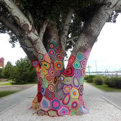 11 июня отметим День уличного вязания «ярнбомбинг» или День вязаного граффити, День Жака-Ива Кусто, День поиска новой звезды