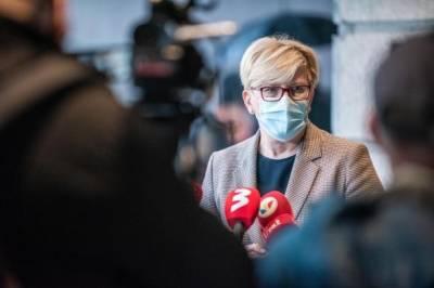 В пандемию Литва должна отличаться мобильностью и адаптацией – премьер
